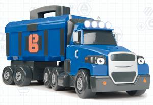 Elektr. Schleppo Truck von Smoby