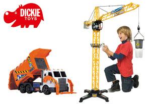 Dickie Paket (Giant Crane & Garbage Truck)