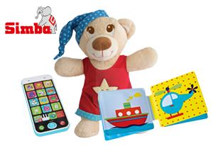 Simba Paket (ABC Kuschelbär, Mein erstes Buch, Smart Phone)