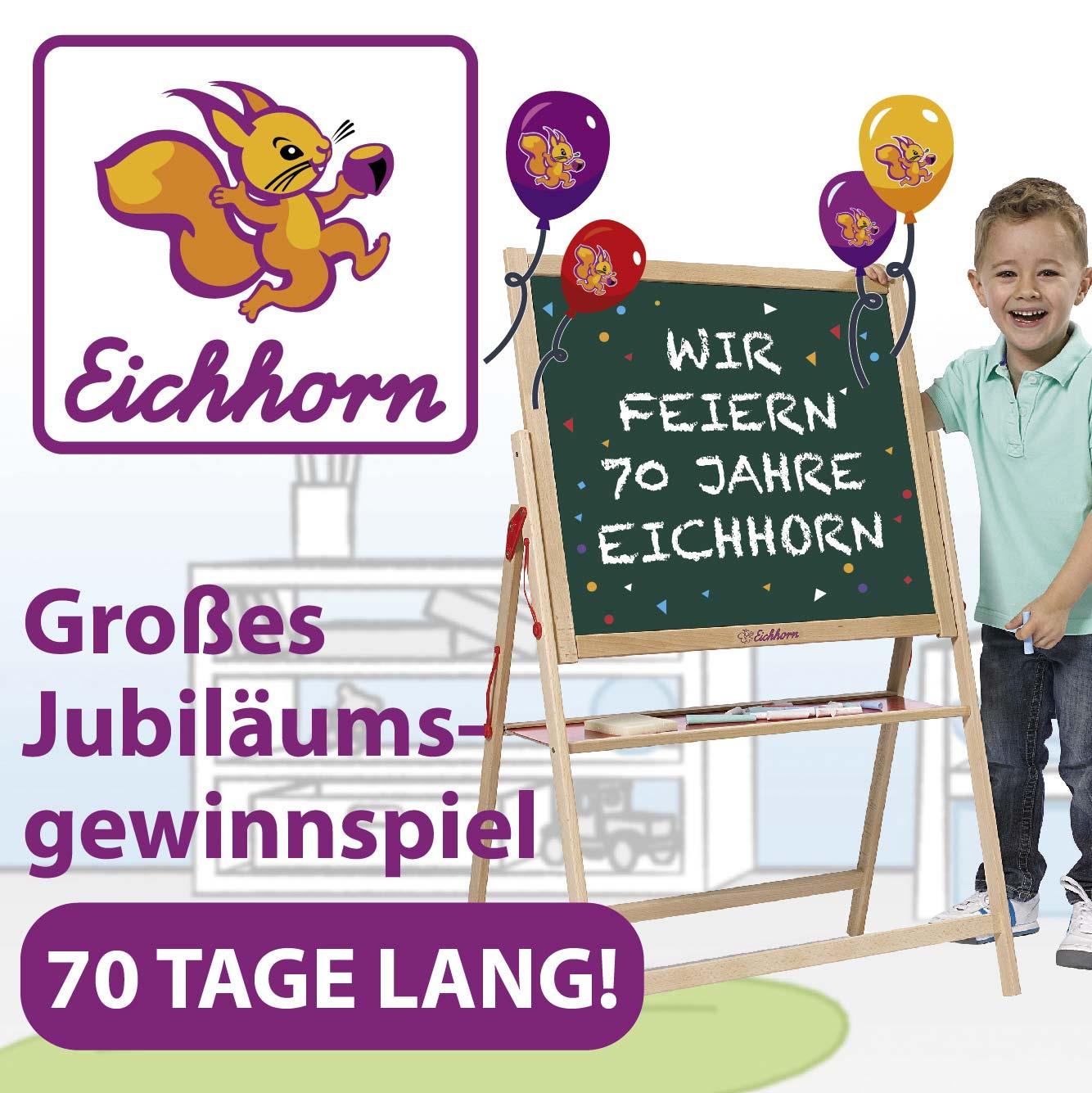70 Jahre Eichhorn - Gewinnspiel